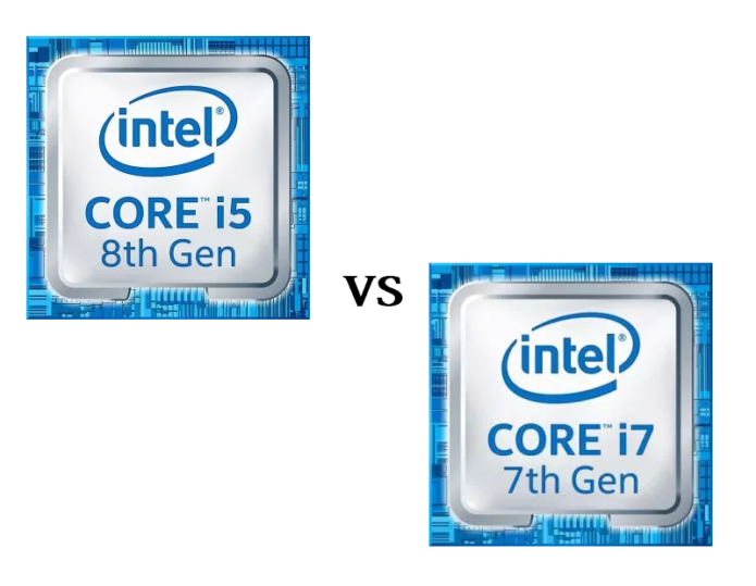 Intel Core i5-8300H vs Intel Core i7-7700HQ – benchmarks and performance comparison