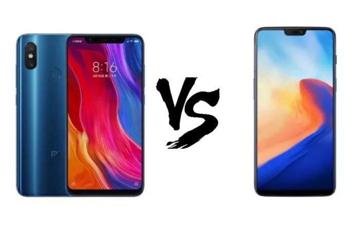 Xiaomi Mi 8 vs OnePlus 6 Specs Comparison