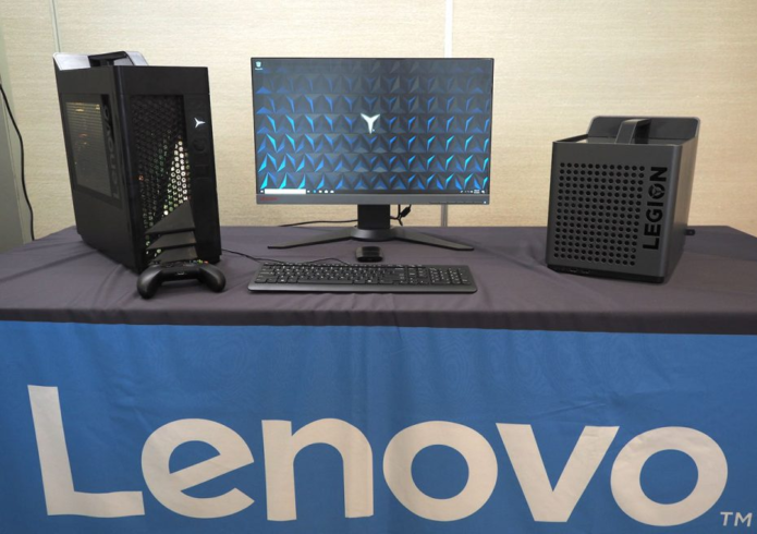 2018 Lenovo Legion gaming towers and cubes detailed: Up Close