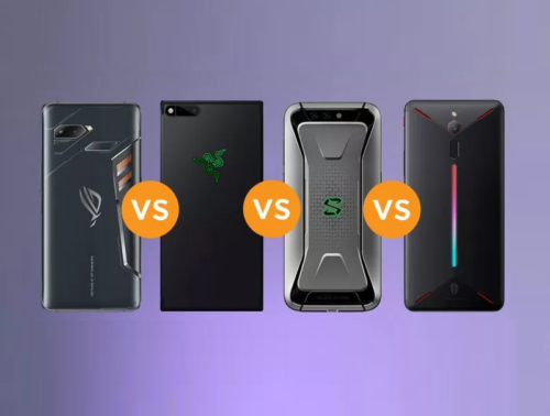ROG Phone vs Razer Phone vs Xiaomi Black Shark vs Nubia Red Magic Specs Comparison