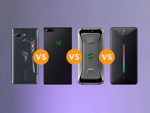 ROG Phone vs Razer Phone vs Xiaomi Black Shark vs Nubia Red Magic Specs Comparison