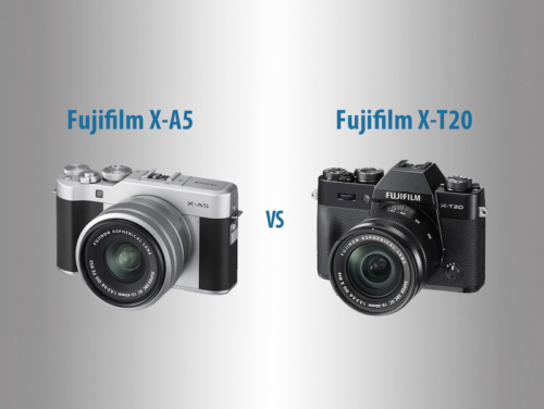 Fujifilm X-A5 vs X-T20 – The 10 Main Differences