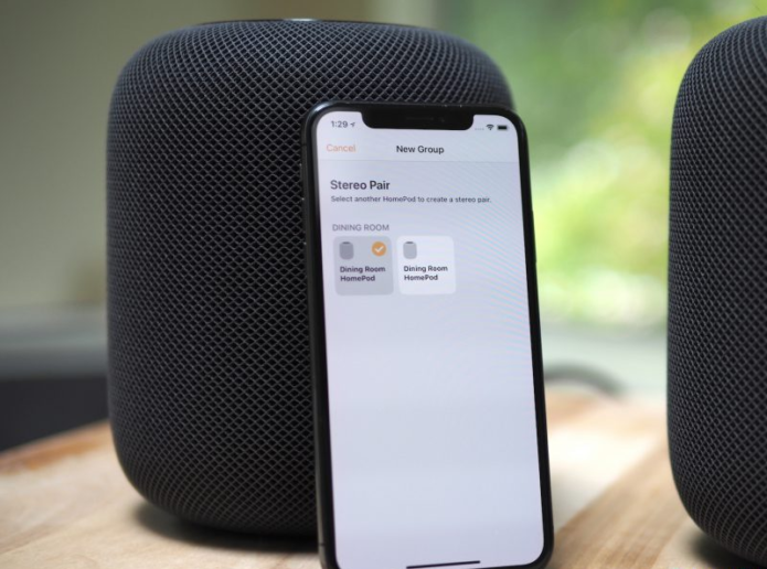 Apple HomePod stereo pairing: Hands-on
