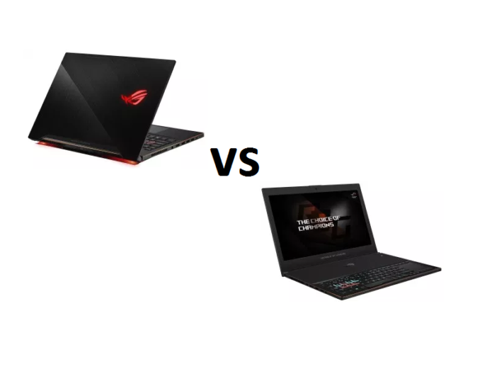 ASUS Zephyrus GX501 vs Zephyrus M GM501 (GM501GM / GM501GS) – what are the differences?