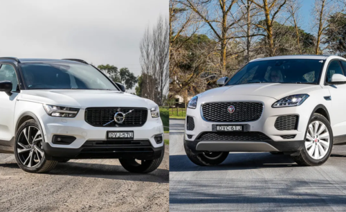 Jaguar E-PACE S P250 v Volvo XC40 T5 R-Design Launch Edition Comparison