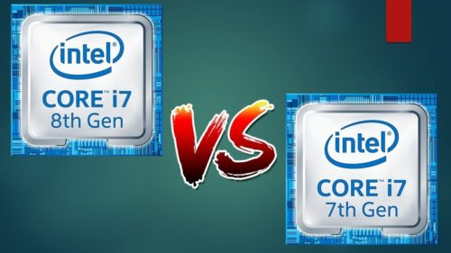 Intel 8th-gen Core i7 vs. 7th-gen Core i7 CPUs Comparison : An upgrade that's finally worth it