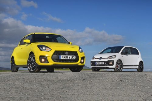 New Suzuki Swift Sport vs Volkswagen Up GTI Comparison