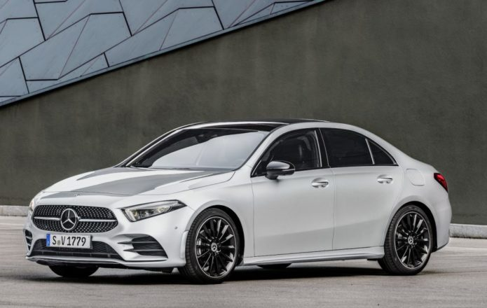 2019 Mercedes-Benz A-Class Sedan revealed for US