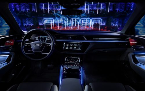 The 2020 Audi e-tron's cabin is an EV tech haven