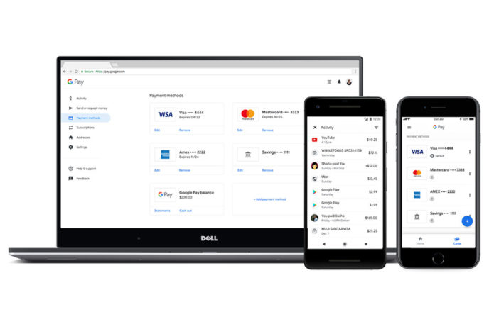 Google Pay embraces tickets, peer-to-peer payments