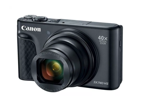 Canon PowerShot SX740 HS announced with 40x zoom lens and 4K video
