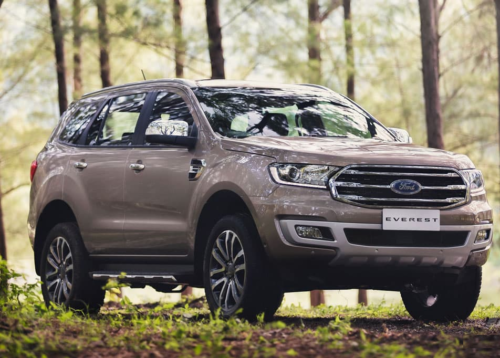 Higher prices for 2019 Ford Everest