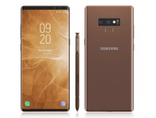 "Galaxy Note 9 ""official"" image: Shocker or Non-shocker!"