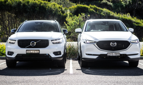 2018 Mazda CX-5 v Volvo XC40 comparison
