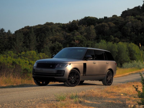 The 2018 Range Rover Supercharged LWB is SUV royalty