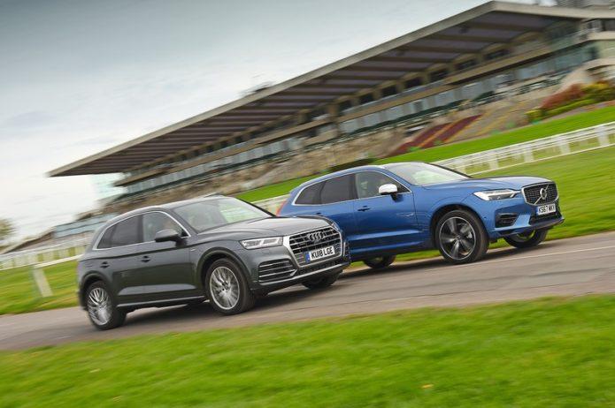 New Audi Q5 diesel vs Volvo XC60 hybrid Comparison