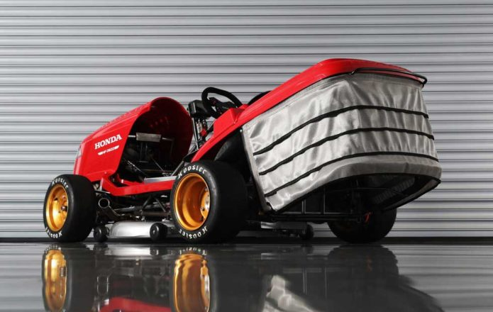 Honda's Mean Mower V2 aims for 150 mph