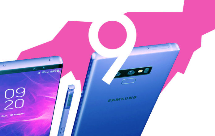 Galaxy Note 9 height features detailed