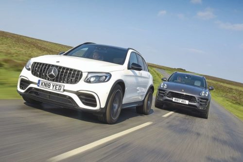 New Mercedes-AMG GLC 63 vs Porsche Macan Comparison