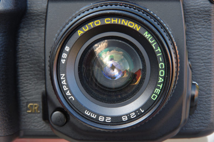 Auto Chinon Multi-coated 28mm f/2.8 Vintage Lens Review