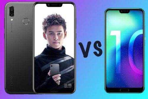 Honor Play vs Honor 10: What's the difference?