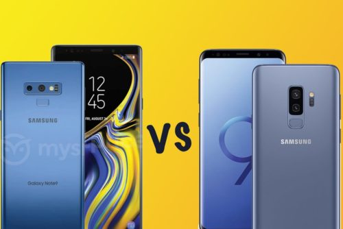 Samsung Galaxy Note 9 vs Galaxy S9+: What's the rumoured difference?