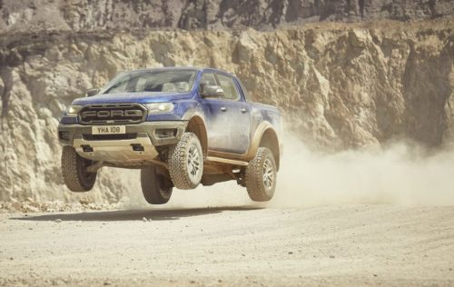 The Ford Ranger Raptor just made its beastly Euro-spec debut