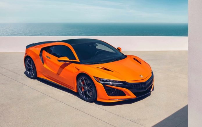 2019 Acura NSX gets stiffer, feistier and more striking