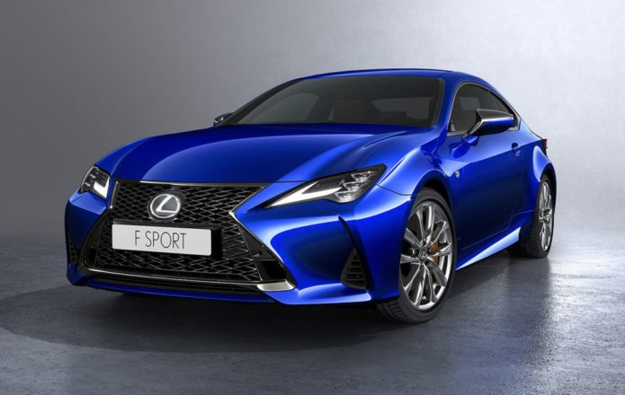 2019 Lexus RC coupe gets LC-inspired upgrade