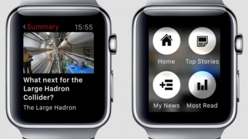 And finally: BBC experiments with speed reading news on smartwatches