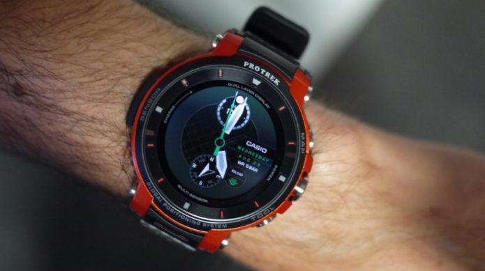 Casio ProTrek WSD-F30 Hands-on review: First look - Outdoor smartwatch slims down