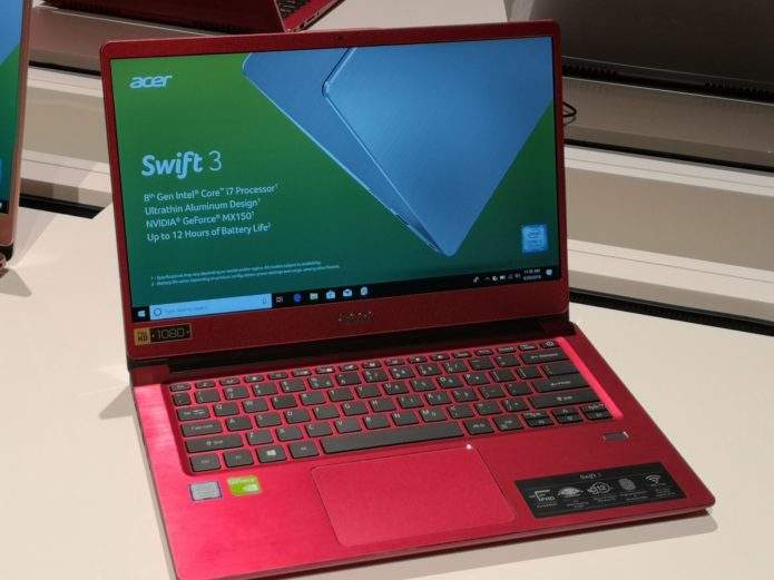 Acer Swift 3 (2018) first look: A gigabit Wi-Fi laptop for the masses