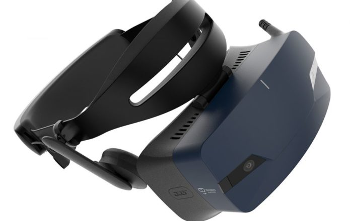 Acer OJO 500 Windows Mixed Reality Headset coddles your face