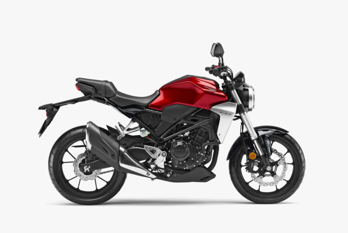2019 Honda CB300R Review – First Ride : Honda's little funster is new and improved for 2019