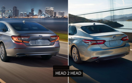 2018 Toyota Camry vs. 2018 Honda Accord – Sedan Showdown