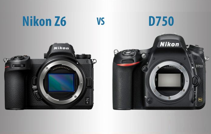 Nikon Z6 vs D750 – The 10 Main Differences