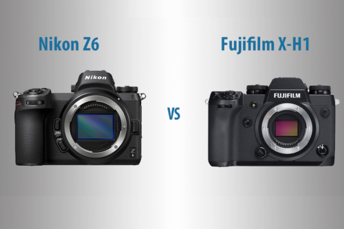 Nikon Z6 vs Fujifilm X-H1 – The 10 Main Differences