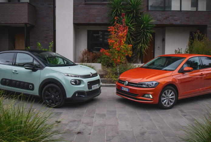 2018 Citroen C3 Shine V Volkswagen Polo Launch Edition Comparison