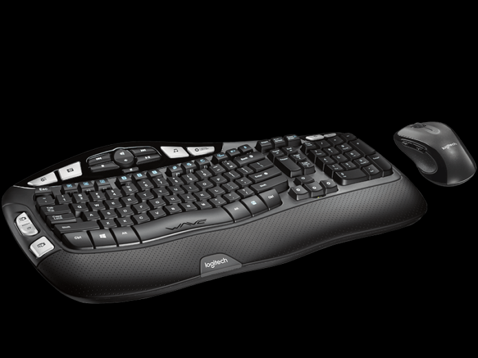 Logitech Wireless Wave Combo MK550 review: This ergonomic keyboard needs better keys
