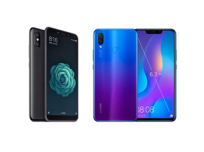 Xiaomi Mi A2 vs Huawei Nova 3i specs comparison