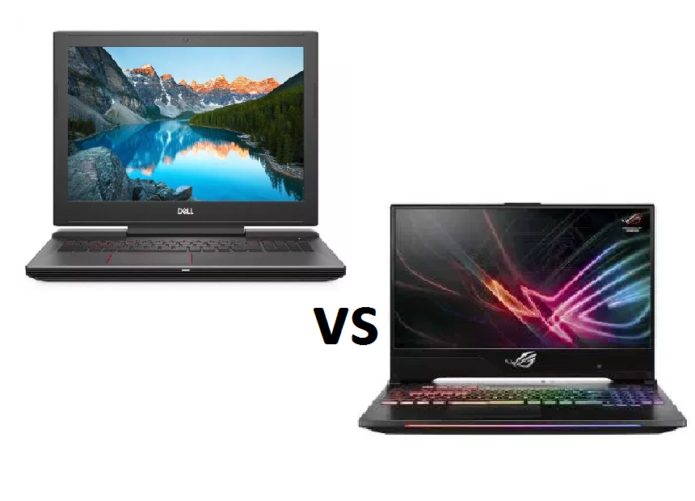 Dell G5 15 5587 vs ASUS ROG GL504 (SCAR II / Hero II) – the supremacy of the Republic of Gamers brand