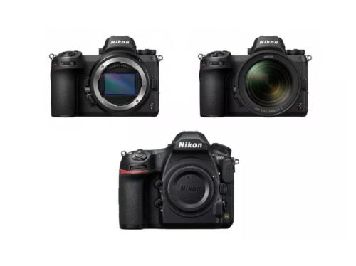 Nikon Z6 vs Nikon Z7 vs Nikon D850 Specifications Comparison
