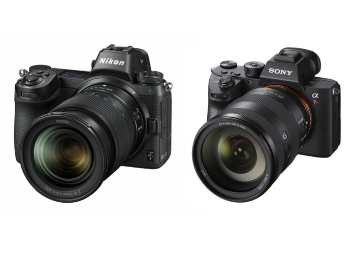 Nikon Z7 Vs Sony Alpha A7R Mark III : Mirrorless Full-Frame Camera Comparison