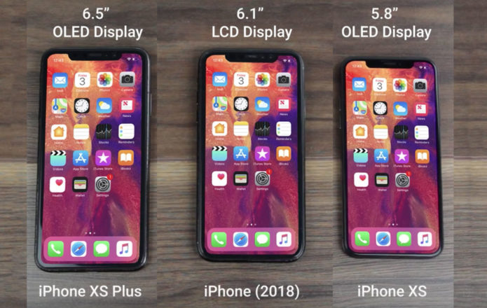 iPhone XS 2018 hands-on video shows all 3 models