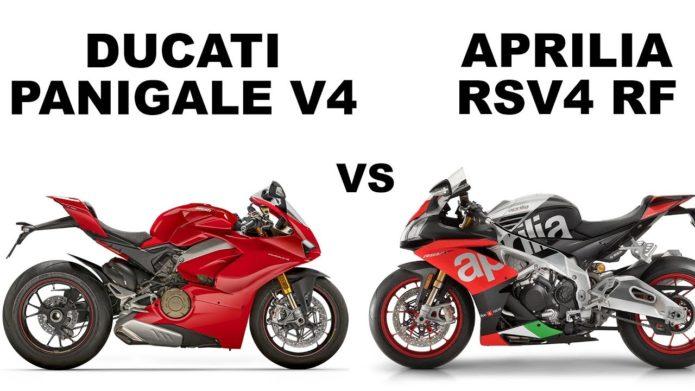Aprilia RSV4 RF Vs. Ducati Panigale V4 S – Dyno Shootout