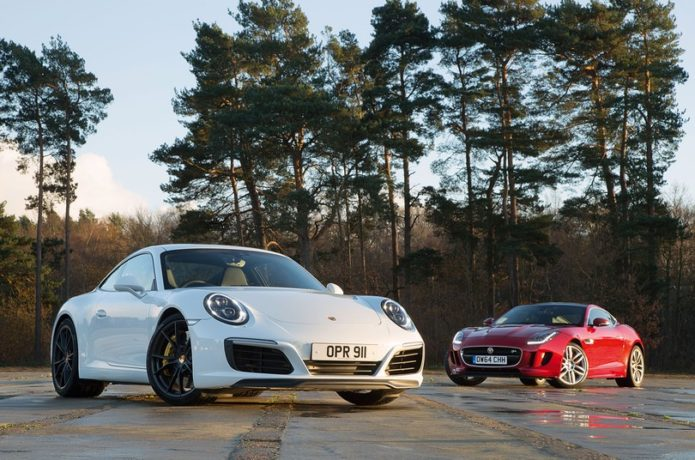 Jaguar F-Type vs Porsche 911 : Used Test Comparison