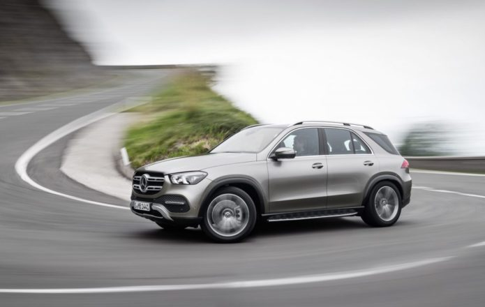 2020 Mercedes-Benz GLE adds third-row, 48v suspension and gesture tech