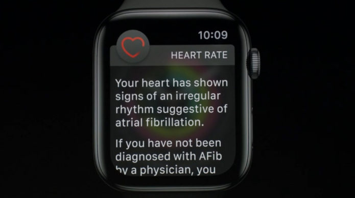 And finally: Apple Watch Series 4 detects AFib with 98% accuracy, says Heart Study