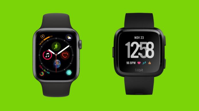 Apple Watch Series 4 v Fitbit Versa: Everyday smartwatches go head to head