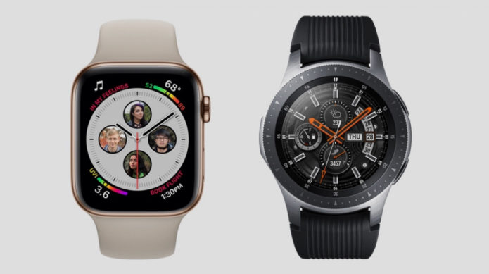 Apple Watch Series 4 v Samsung Galaxy Watch: The flagship smartwatches face off